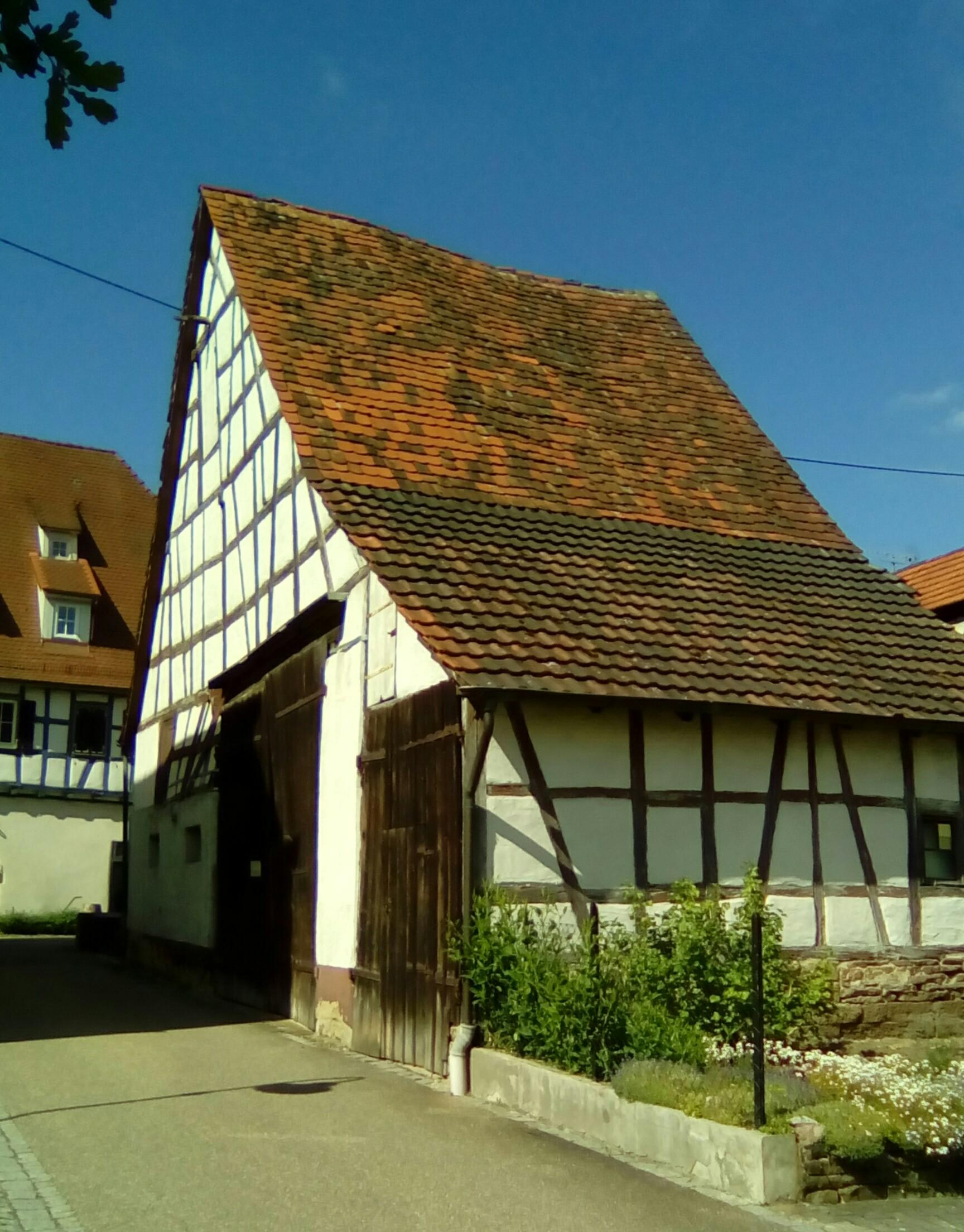 Das Schächthaus in der Jägerstraße, Sommer 2017.