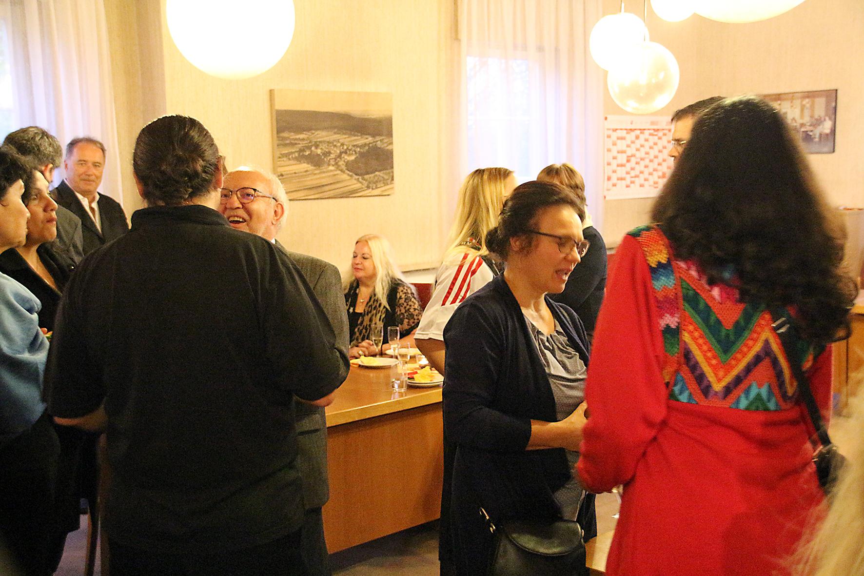 Nachfahrentreffen - Begegnungen im Rathaus Freudental