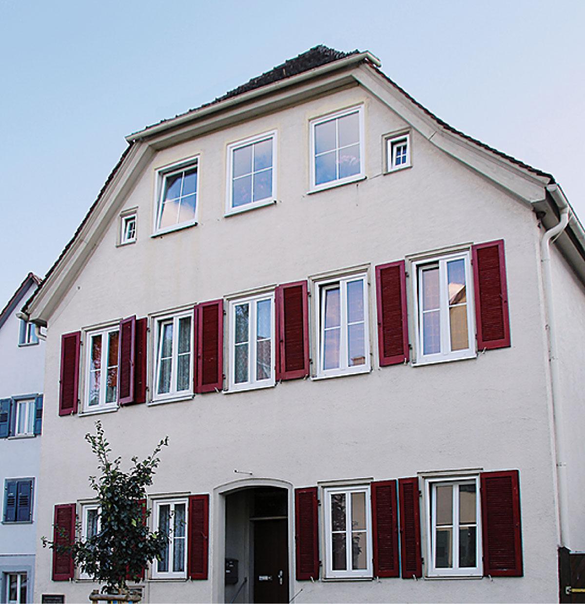 ehemaliges ev. Pfarrhaus