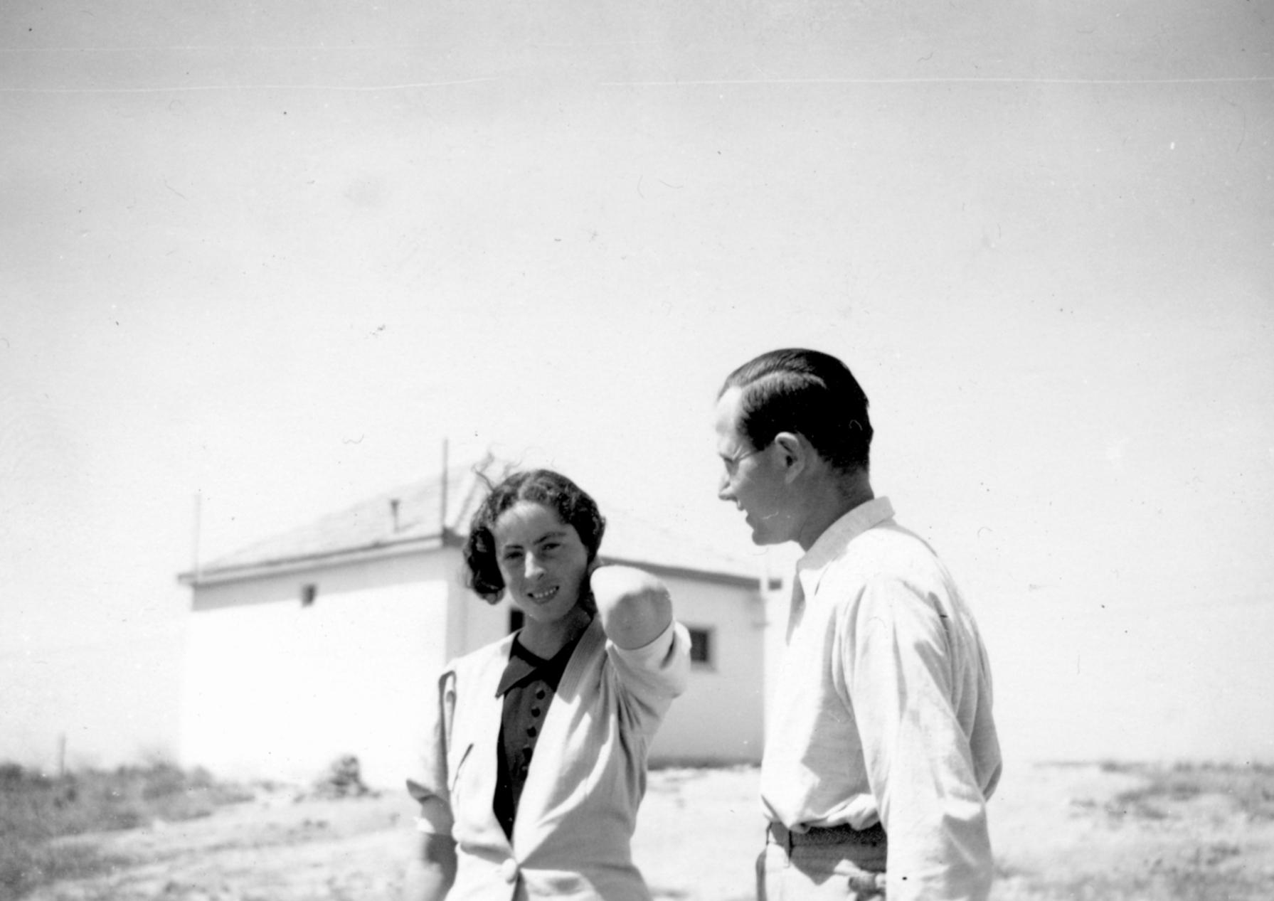 Ehepaar Kann in Shavei Zion.