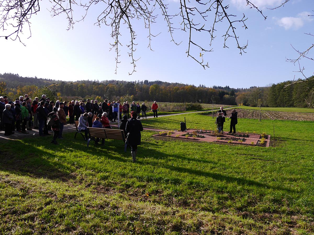 Eröffnung Garten der Erinnerung